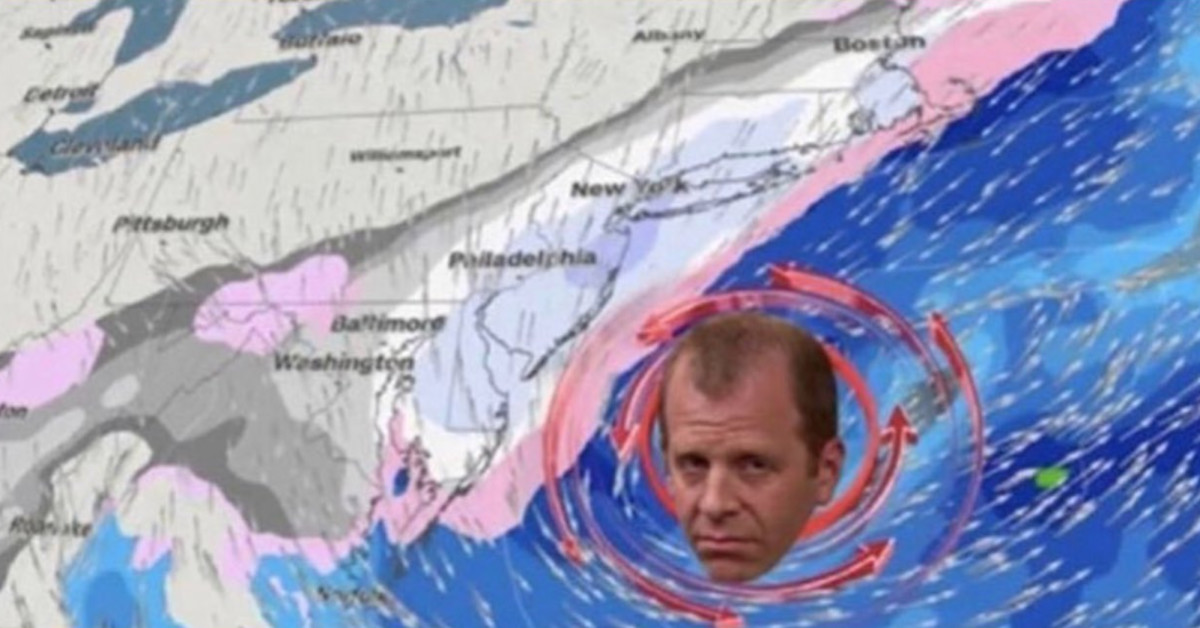 Winter Storm Toby Is Set To Hit The Northeast And The Internet's Response Is Glorious