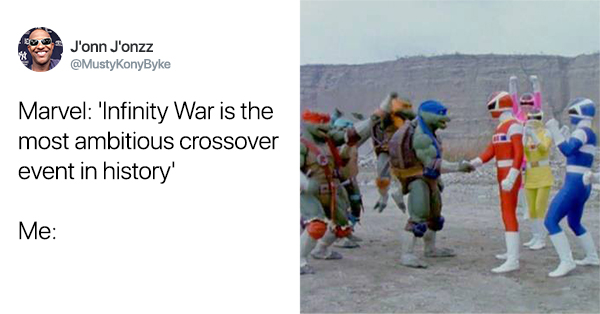 20+ Crossovers More Ambitious Than Infinity War, According To Twitter