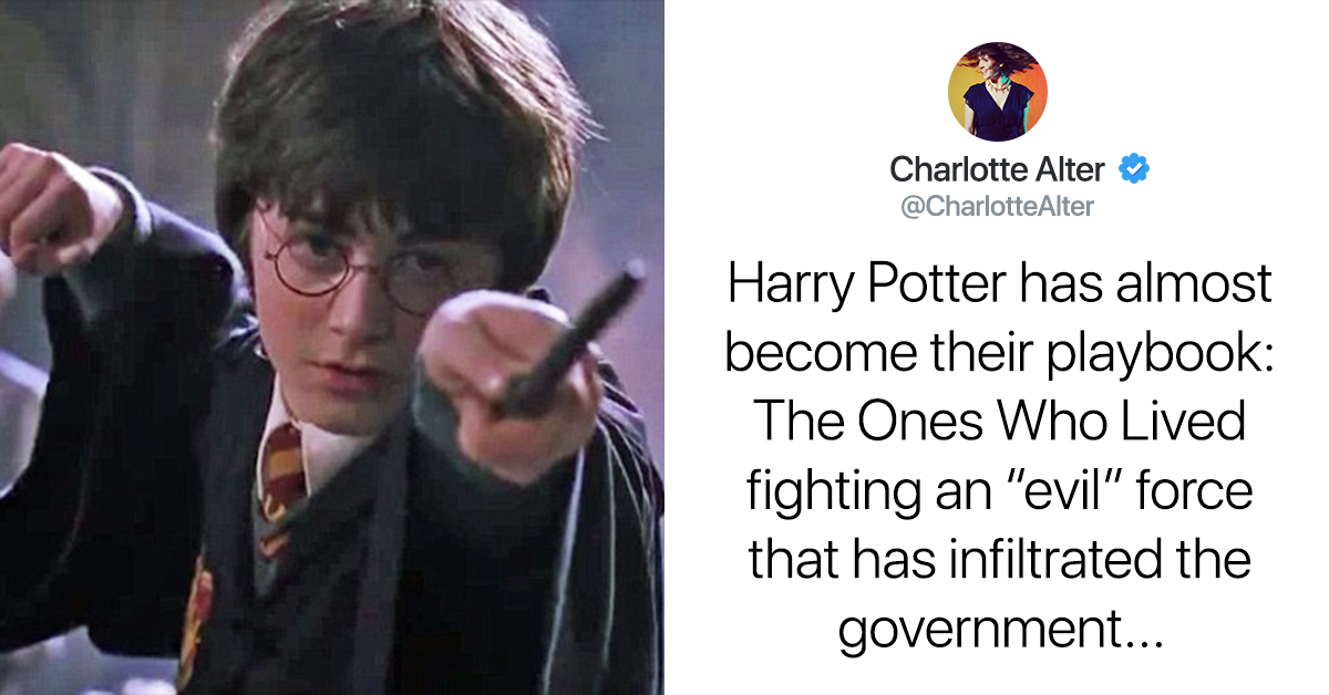 This Woman Compared March For Our Lives To Harry Potter And The Parallels Are Eerie