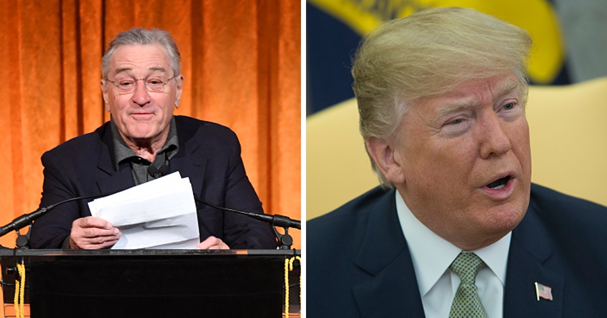 Robert De Niro Once Again Rips Into Donald Trump — And He's Not Backing Down