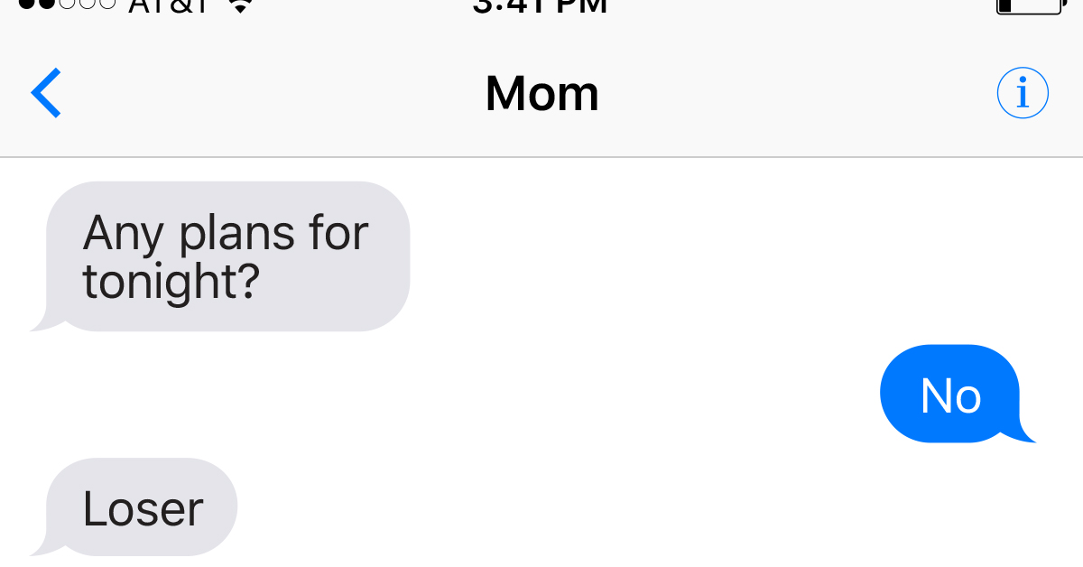14 Of The G**damn Funniest Texts Moms Have Ever Sent Their Children