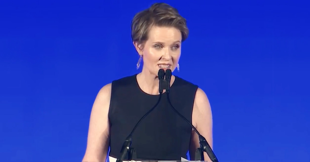 'Sex And The City' Star Cynthia Nixon Just Announced She's Running For Governor Of New York And People Are Here For It