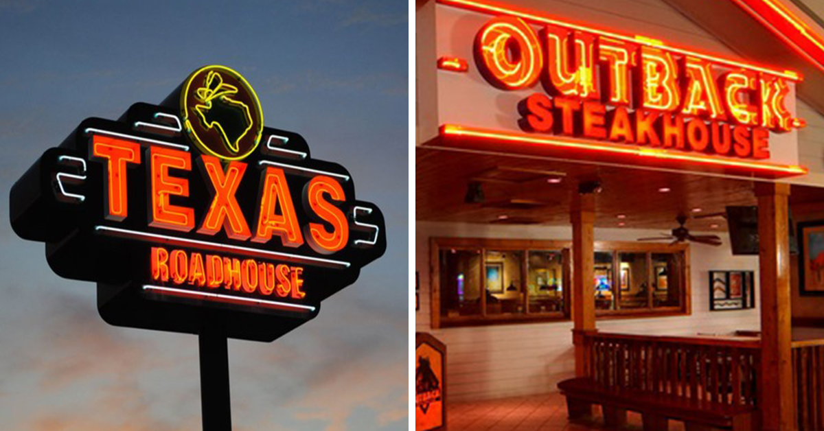 Texas Roadhouse and Outback Steakhouse Are Beefing On Twitter And The Savagery Is Real