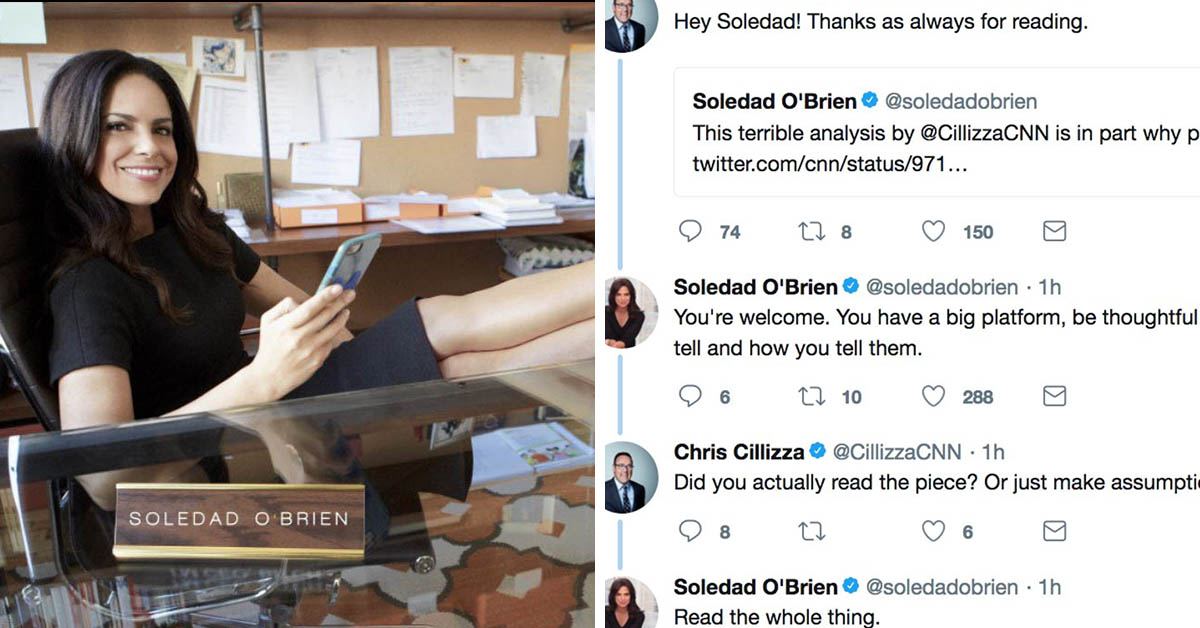 CNN Pundit Shutdown By Soledad O'Brien After Calling Trump 'The Greatest Reality Show Ever'