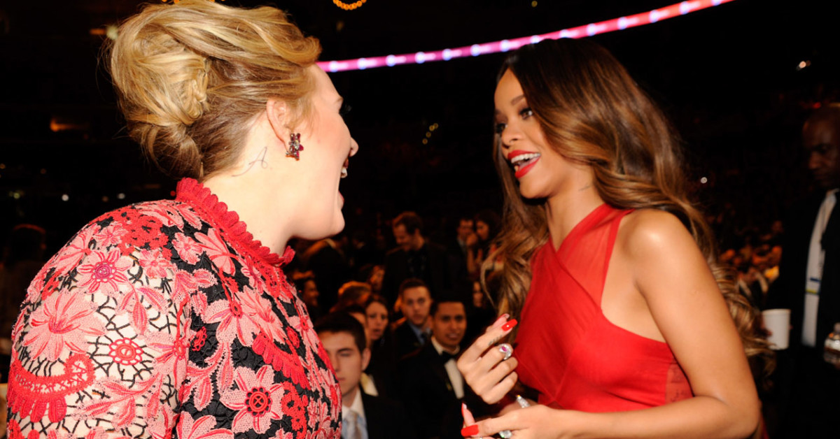 Adele Wrote The Most Moving Letter For Rihanna And We're Crying