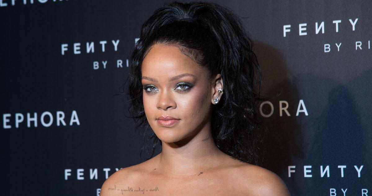 Rihanna Somehow Sported A Gucci Ski Mask At Coachella, Despite The Heat