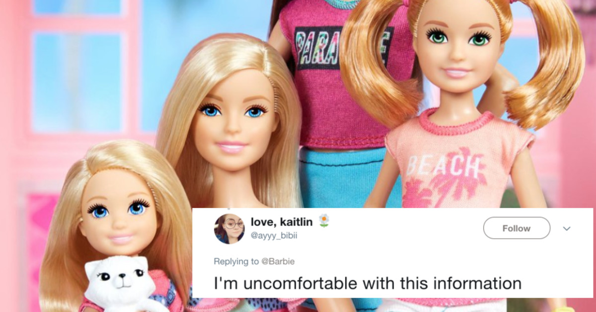 Apparently Barbie Has A Last Name We Never Knew About And The World Is Shook