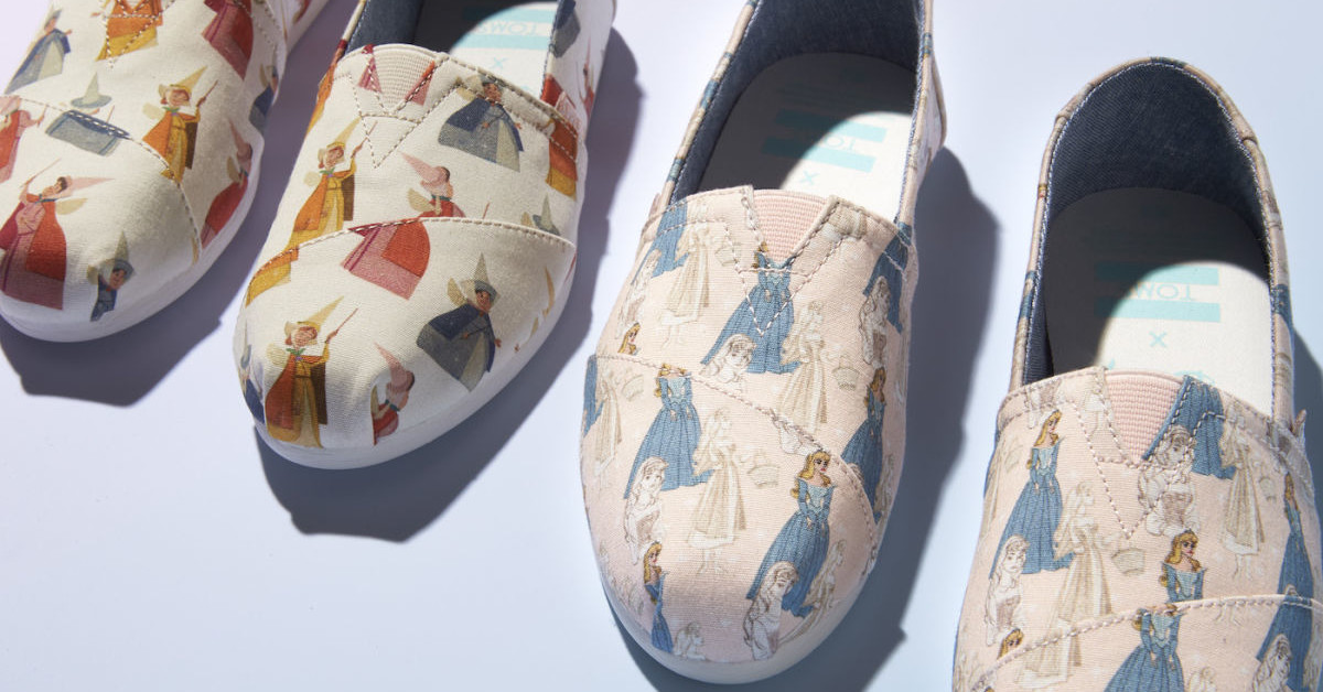 Toms Is Releasing New Disney Shoes And The You're Going To Want All Of Them