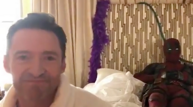 Deadpool Video Bombs Hugh Jackman's Birthday Message