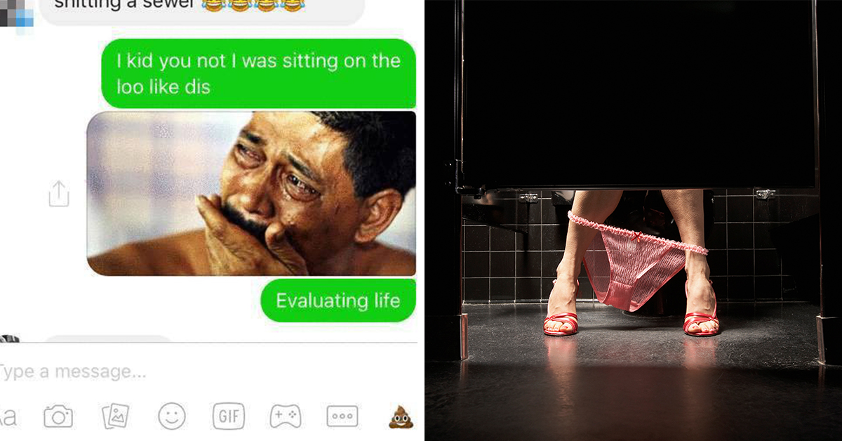 This Girl's Story About Taking A Horrifying Crap In A Public Toilet Is Hysterical