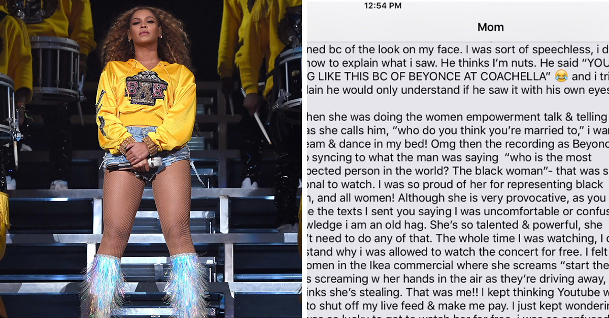 This Mom's Reaction To Beyoncé's Coachella Performance Is Literally All Of Us