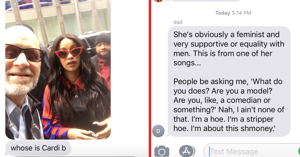 Parents Are Just Discovering Who Cardi B Is And It's Hilariously Awkward