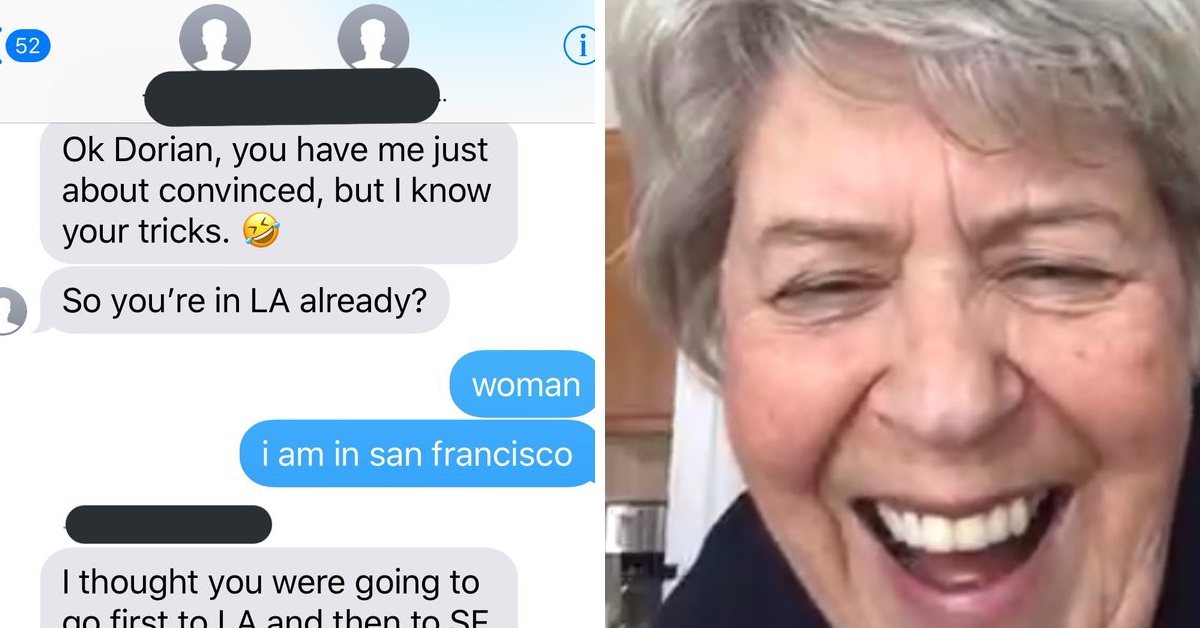 Woman Can't Seem To Convince Stranger's Mom That She's Got The Wrong Number