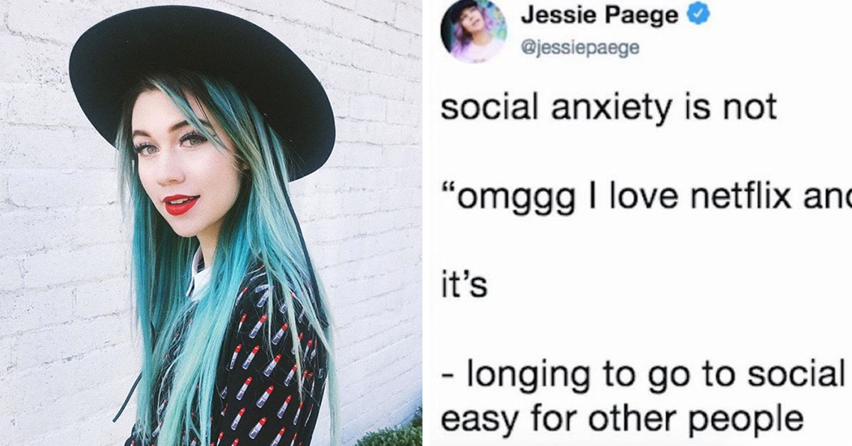 Twitter Is Praising This Woman's Tweet About The Reality Of Living With Social Anxiety