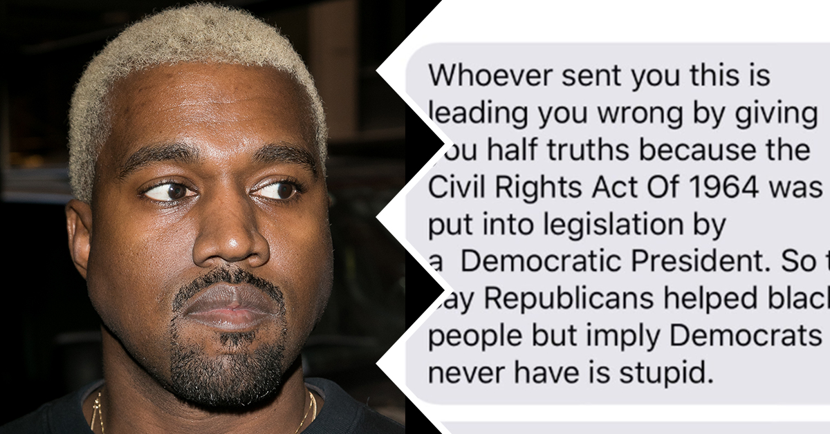 Kanye's Famous Friends Schooled Him After He Tweeted That Republicans Freed The Slaves