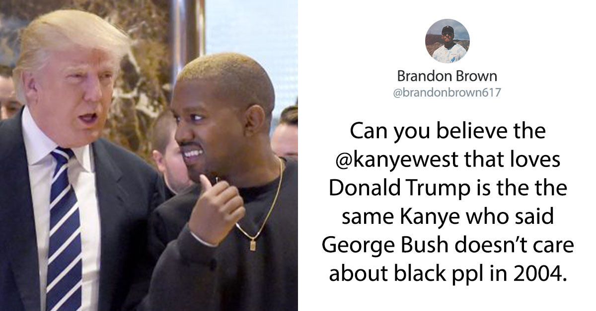 Kanye West Confessed That He Loves Donald Trump And People Are Not Happy About It