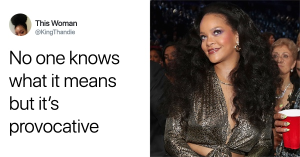 Rihanna Just Shared A Bizarre Photo That Has Twitter Divided Over Its Cryptic Message