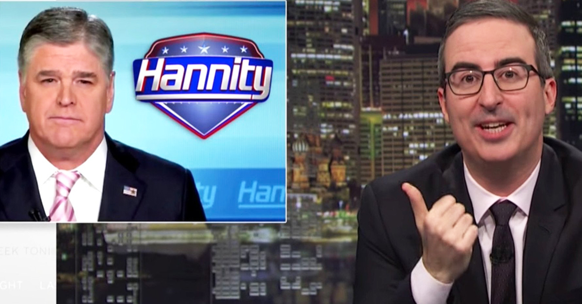 John Oliver Bought An Ad On 'Hannity' To Explain Why Killing The Iran Deal Is 'Flagrantly Horrific'
