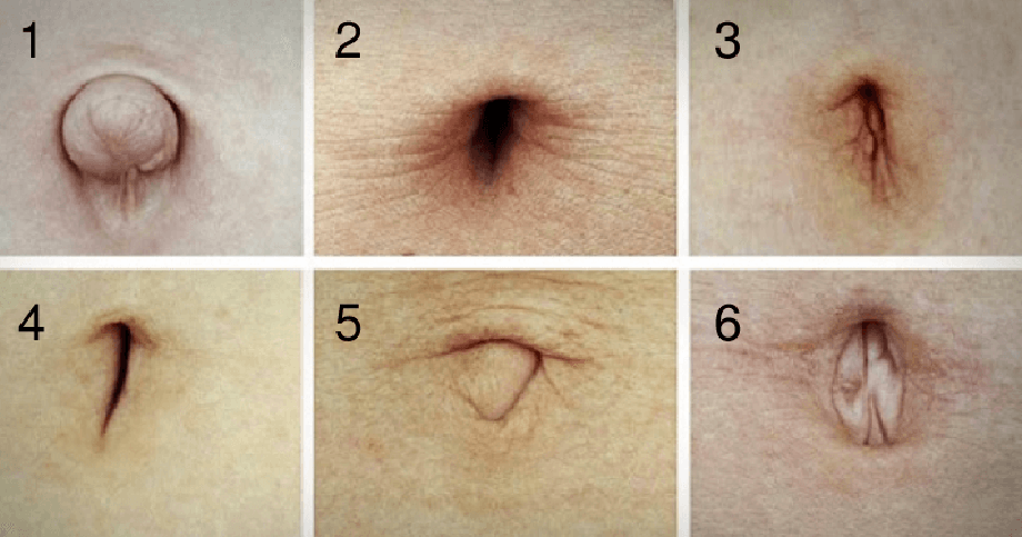 What The Shape Of Your Belly Button Says About You