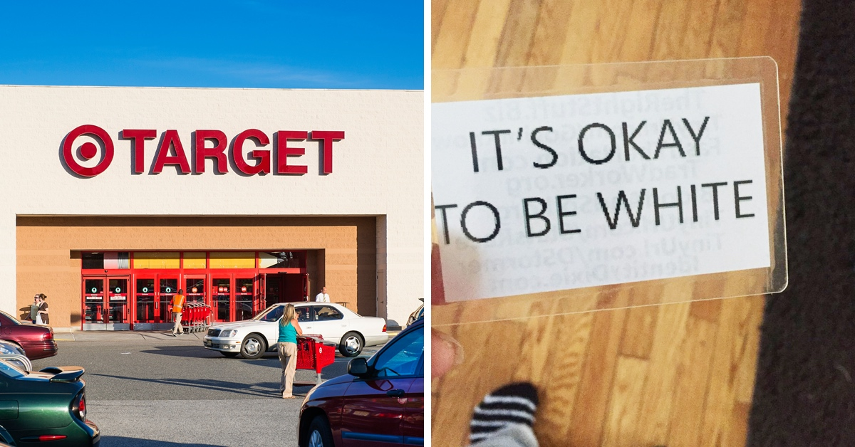 A Target Employee Has Been Fired For Leaving White Supremacist Messages In Boxes Of Diapers
