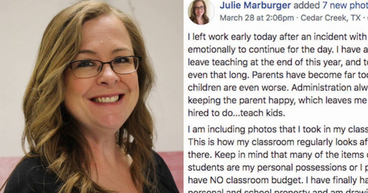 People Are Praising This Teacher's Plea For Parents To Raise Their Children Better