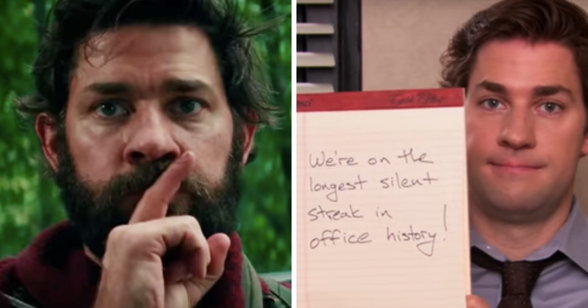 Someone Did A Mashup Of 'A Quiet Place' And 'The Office,' And It's Too Good For Words
