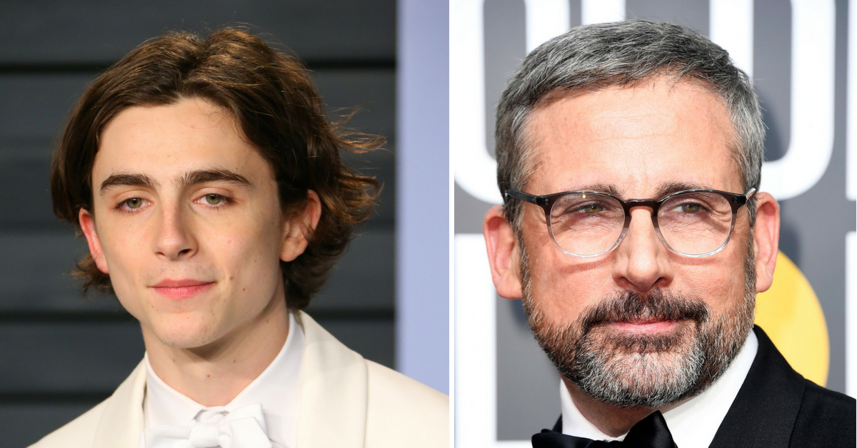 Timothee Chalamet And Steve Carrell's New Movie Looks Like A Total Sob Fest And We Can't Wait