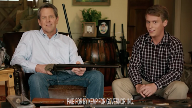 This Governor Candidate Just Aimed A Gun At A Teen In His Campaign Promo