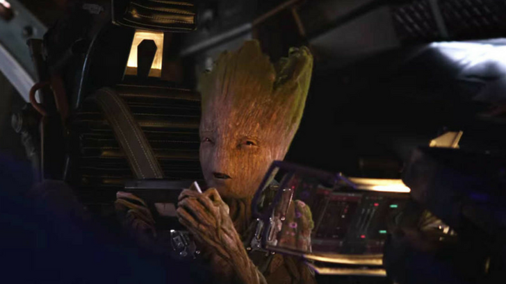 i just found out something about groot in infinity war - 728×409
