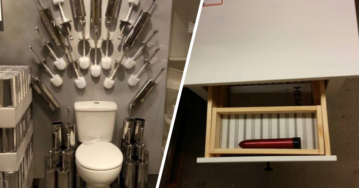 19 Times IKEA Was Too Strange For Its Own Good