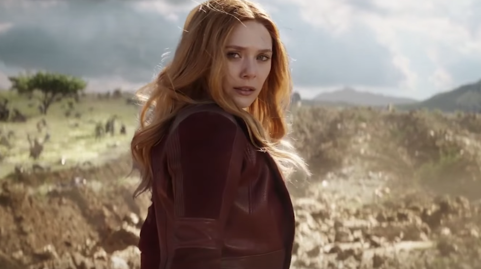 Scarlet Witch Accent Inifinity War