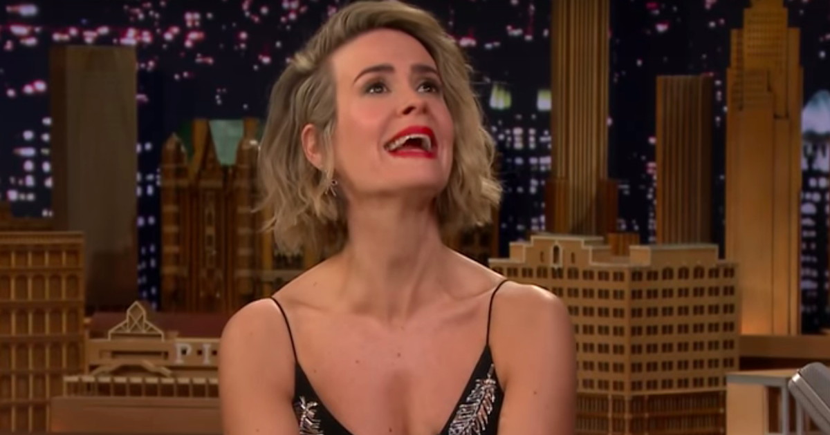Sarah Paulson Is Actually A Master Of Impressions — And Her Dolphin Is Spot. On.