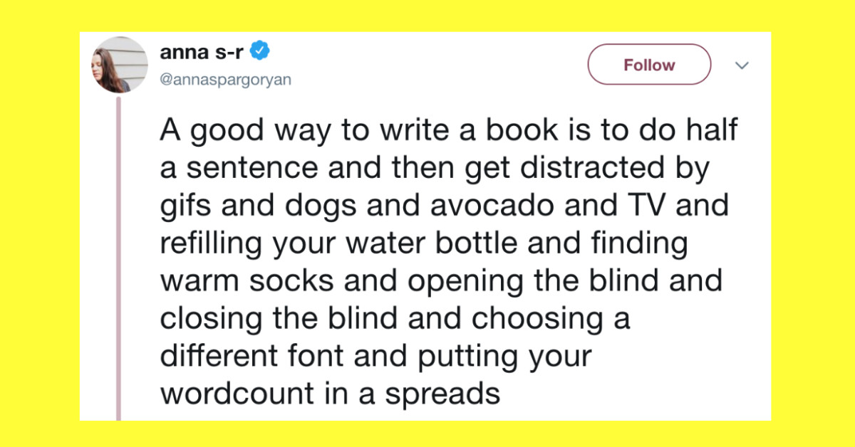 20+ Tweets That'll Make Any Writer Say 'Ouch, Too Real'