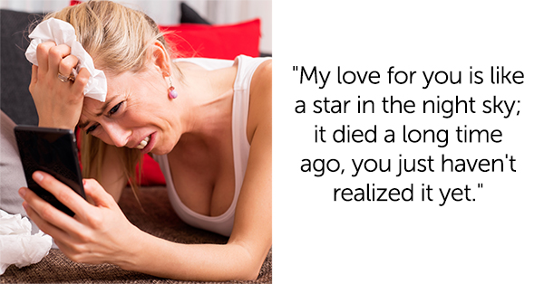20+ Brutal Breakup Lines Almost Worth Ending Your Relationship With