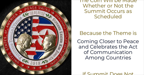 White House Issues Hilarious Statement Responding To Commemorative Coin Fiasco