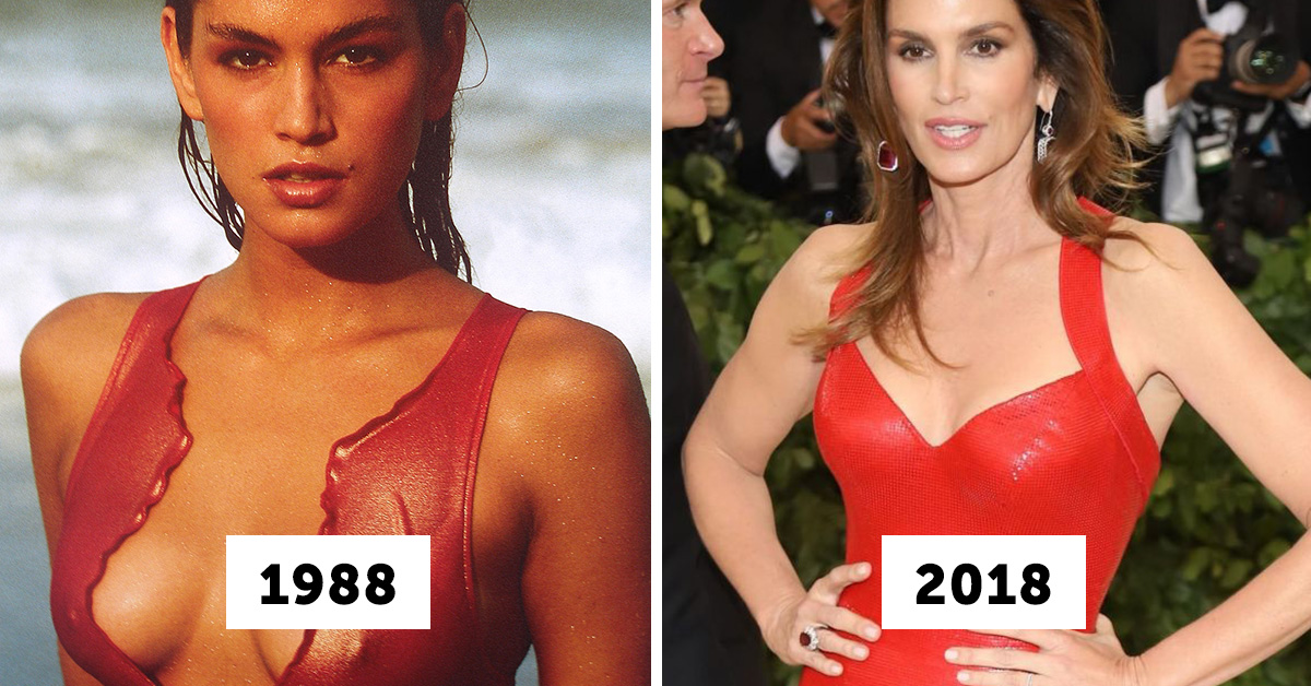 What 17 Legendary Supermodels Look Like Today