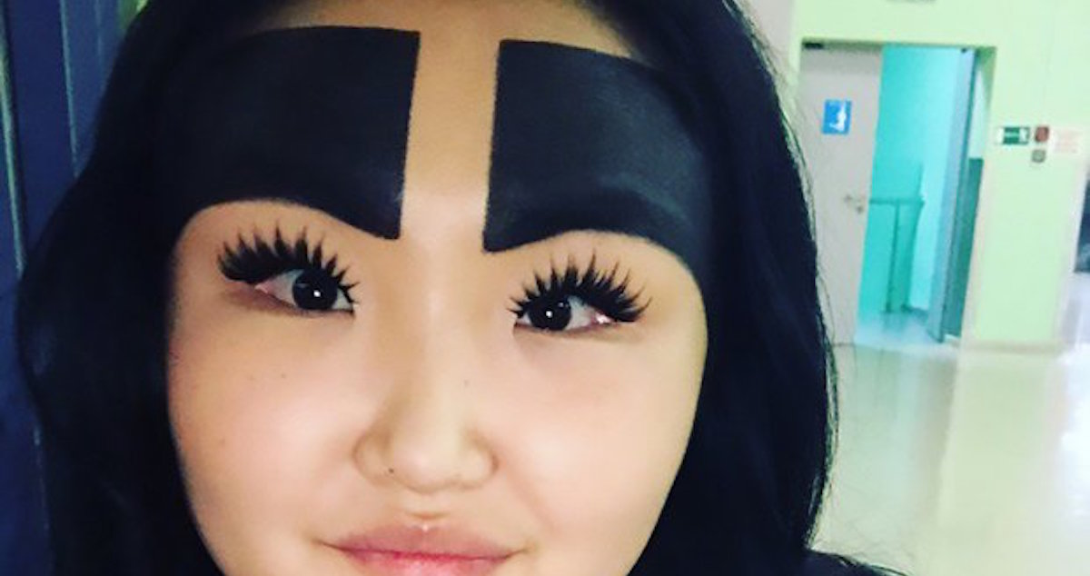 Giant Eyebrows That Cover Your Forehead Are The Latest Beauty Trend To Give Me A Headache