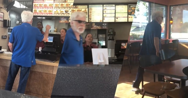 Texas Man Hurls Racist Insults At Jack In The Box Employee After She Won't Accept His Coupon