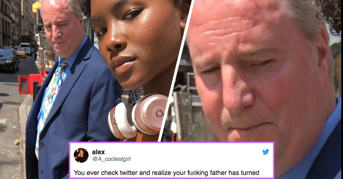 This Daughter's Reaction To Finding Out Her Dad Had Become A Super Awkward Meme Is Pretty Priceless