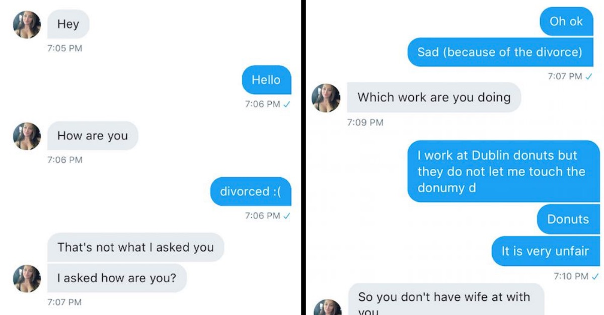 Guy Hilariously Trolled This Woman Who Tried To Catfish Him & He Takes Her For A Big Spin