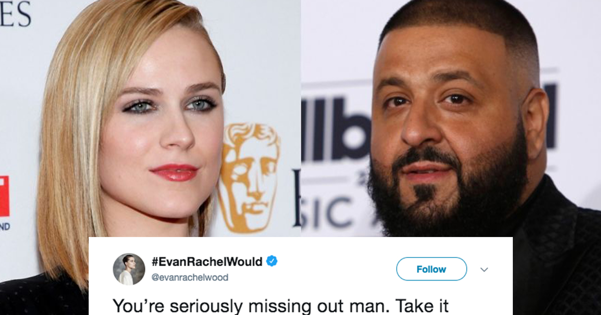 Evan Rachel Wood Called Out DJ Khaled For Not Going Down On Women And It Was Kind Of Dirty