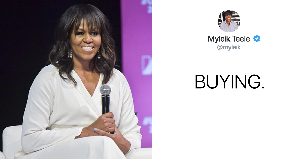 Michelle Obama Just Shared The Cover Of Her New Memoir — And It's Perfection
