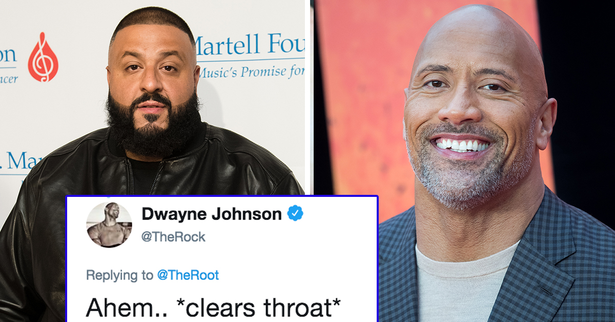 The Rock Just Responded To DJ Khaled Not Going Down On His Wife And People Are Losing Their Minds