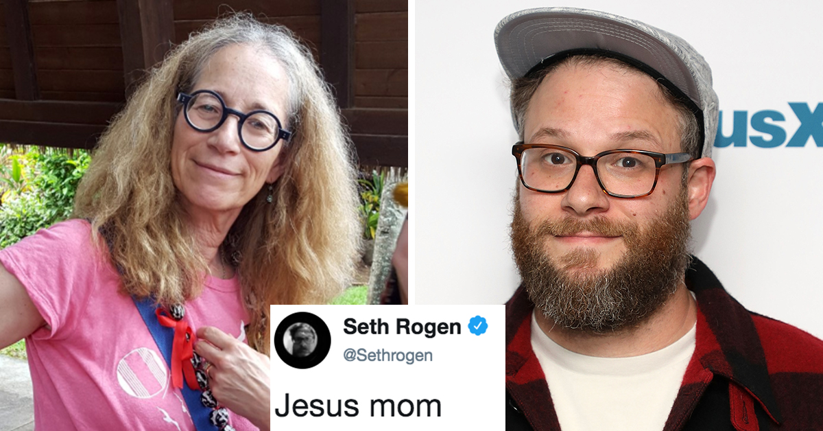 Seth Rogen's Mom Recently Faced A Dilemma In Yoga Class That Was Majorly TMI