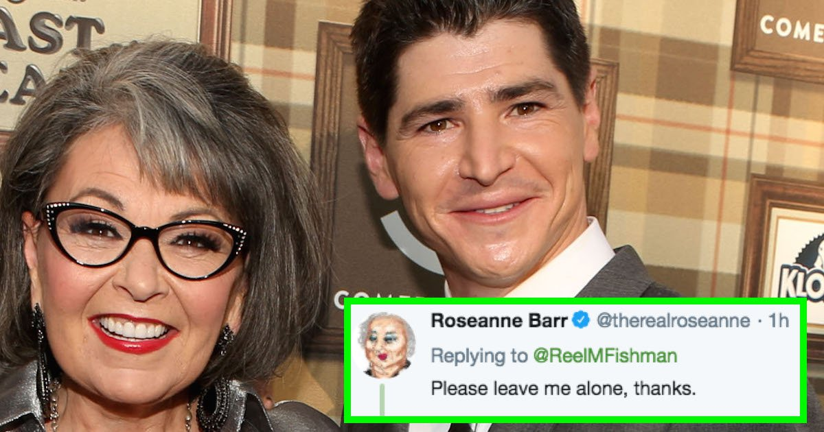 Roseanne Is Fighting With Her TV Son Because Drama Never Sleeps