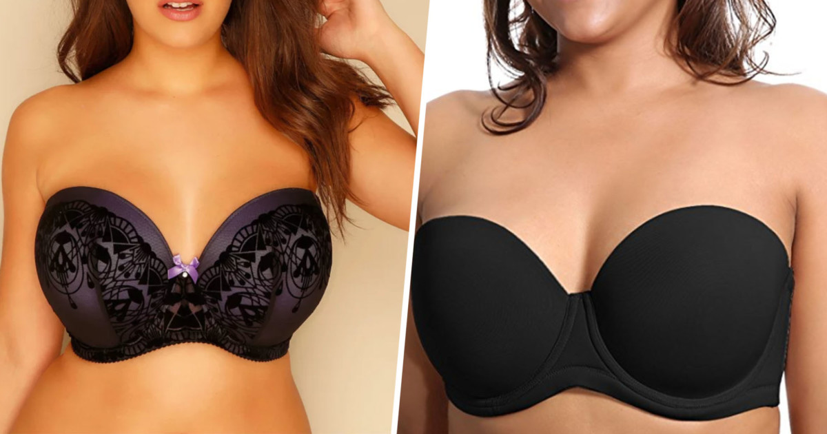 9 Strapless Bras You Won't Need To Pull Up Every 2 Minutes