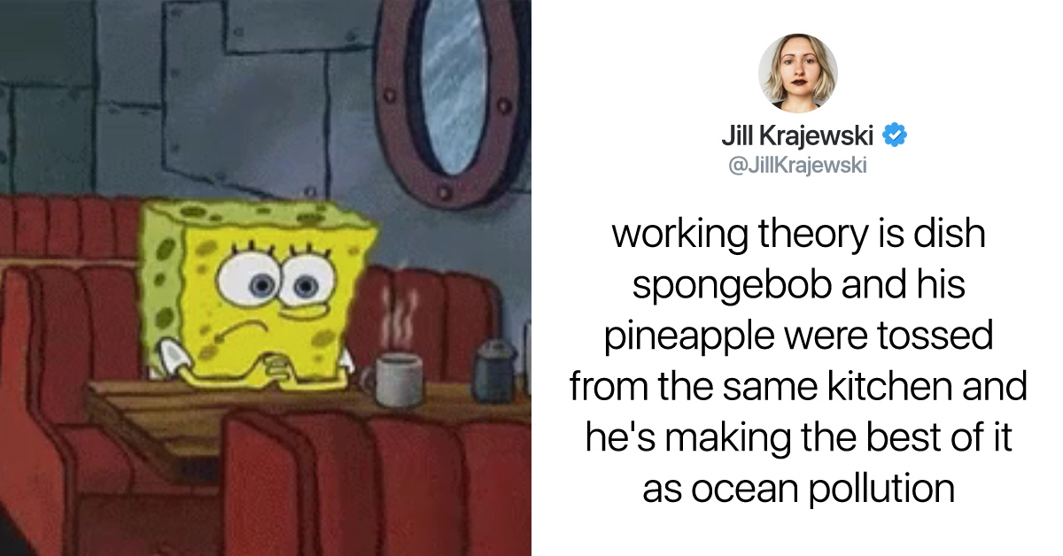 The Internet Can't Decide If SpongeBob Is A Dish Sponge Or A Sea Sponge