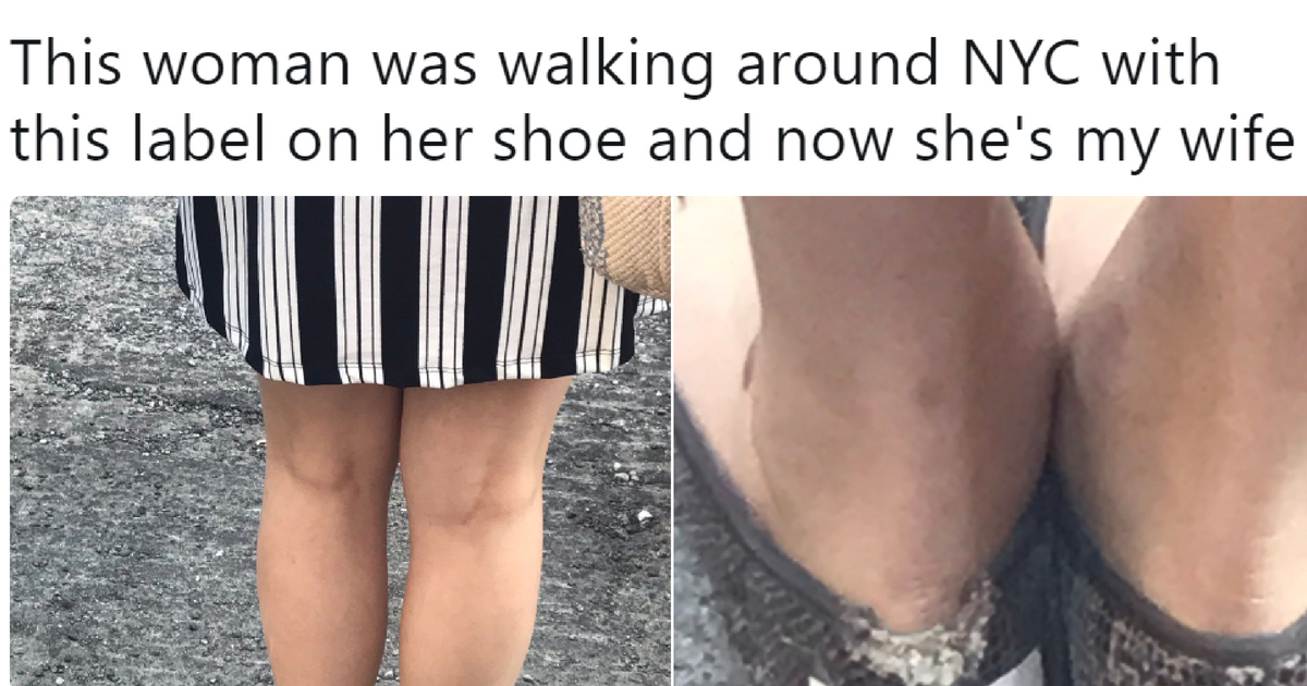 This Woman's Label For Her Shoe Is Gaining Her A Lot Of Fans