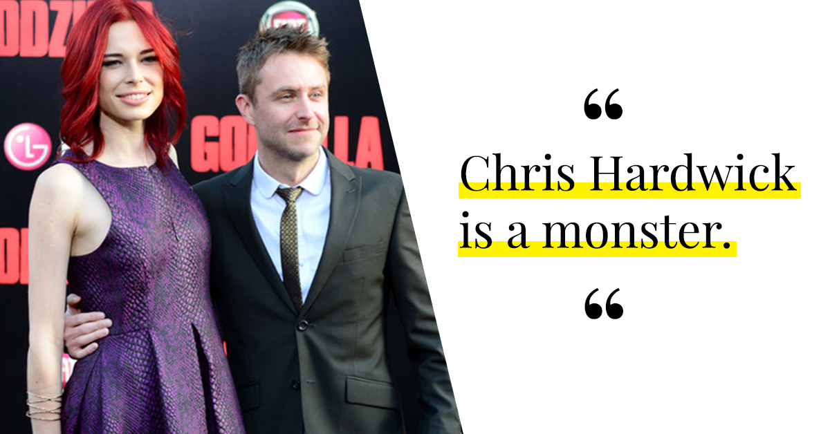 Actress Chloe Dykstra Just Accused Chris Hardwick Of Horrifying Sexual And Emotional Abuse